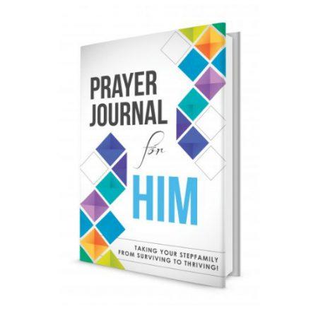 Better Than Blended Prayer Journal for Him
