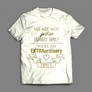 Extraordinary-Family-Tee-(White-Gold)